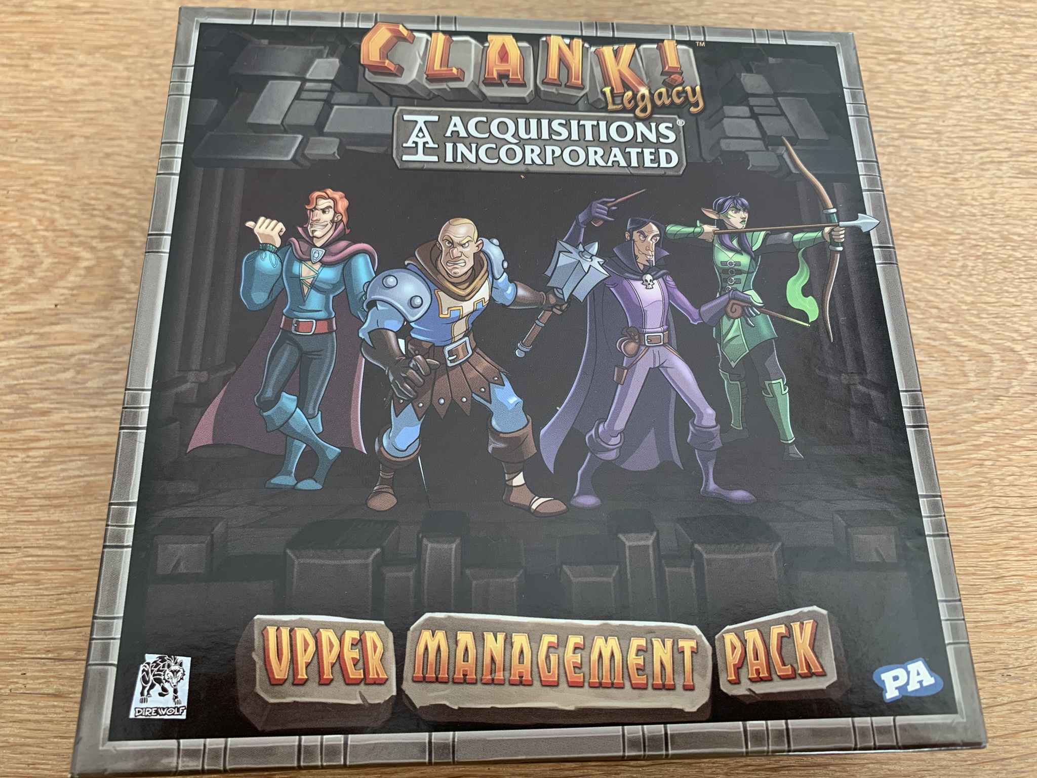 Clank! Legacy: Acquisitions Incorporated - cover