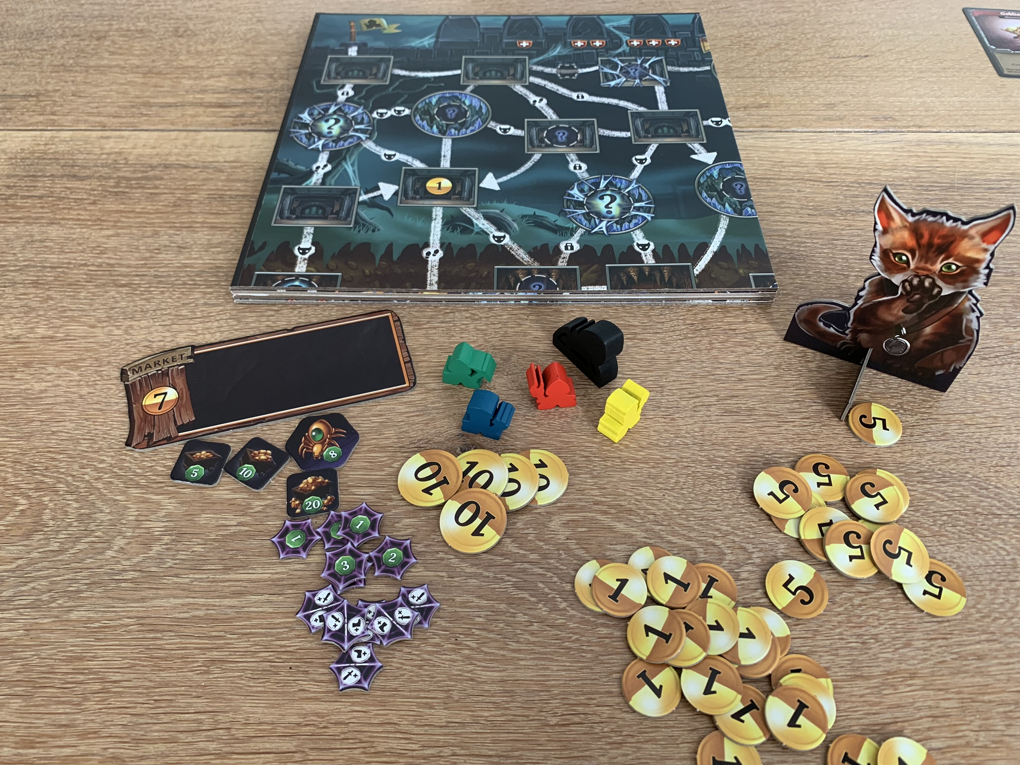 Clank! Expeditions: Gold and Silk - content