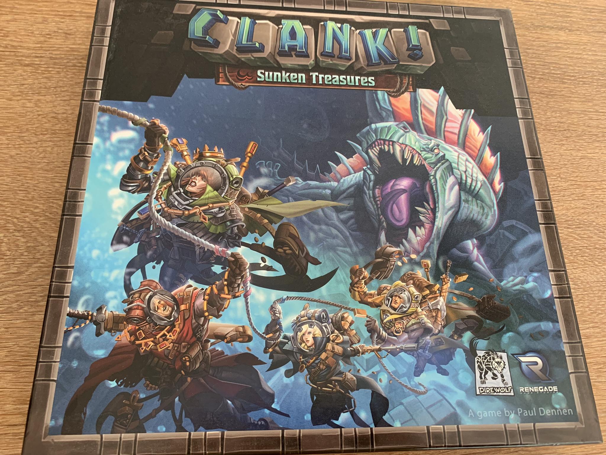 Clank!: Sunken Treasures - cover