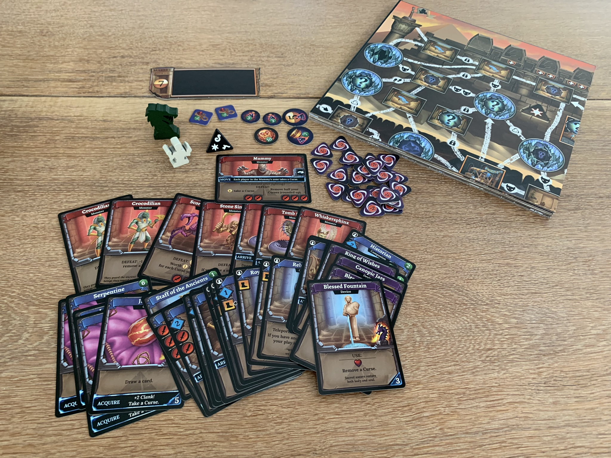 Clank!: The Mummy's Curse - content