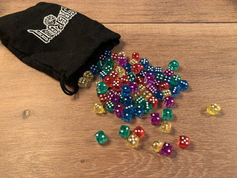 Colorful dice!