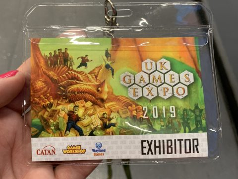 Badge - entry ticket